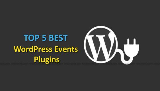 Wordpress Events Plugins