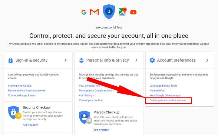 Hướng Dẫn Cách Thêm Hoặc Xóa Tài Khoản Google Của Bạn - VERA STAR