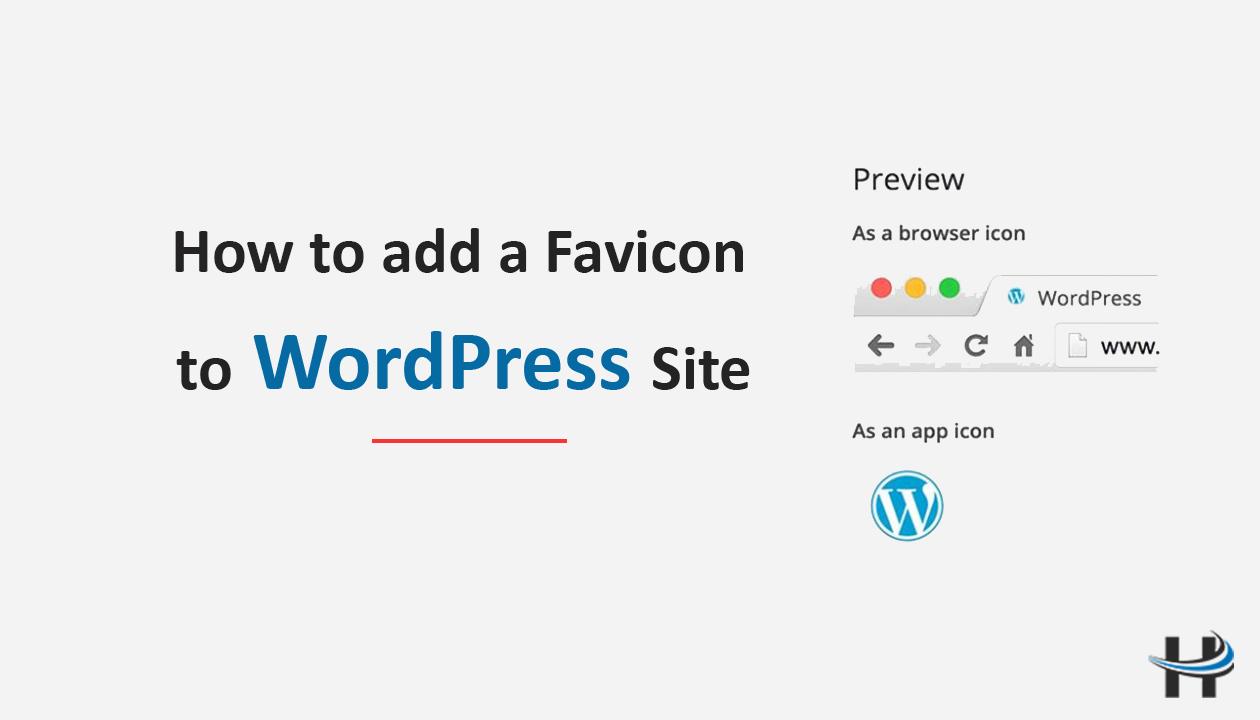 WordPress Site me Favicon
