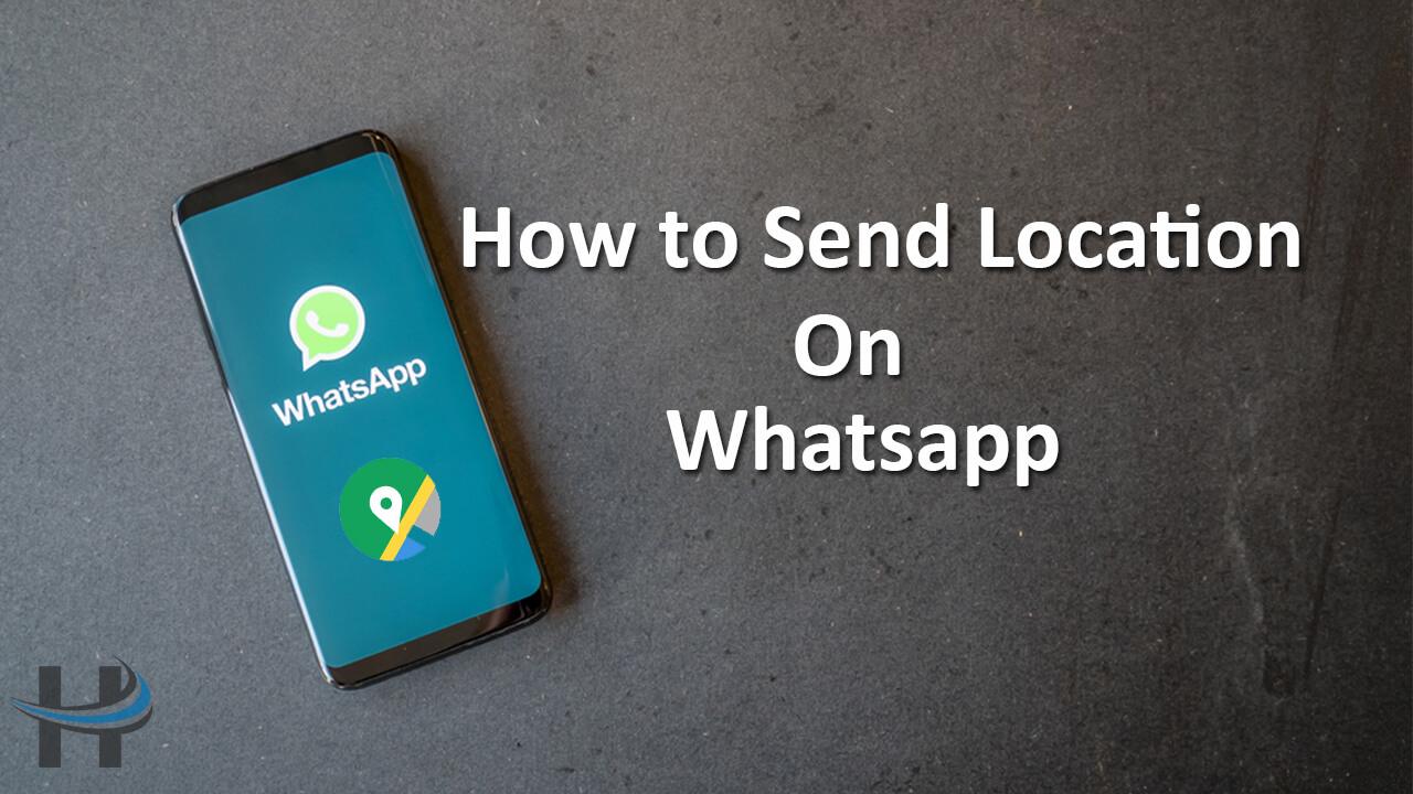 Whatsapp में location कैसे send