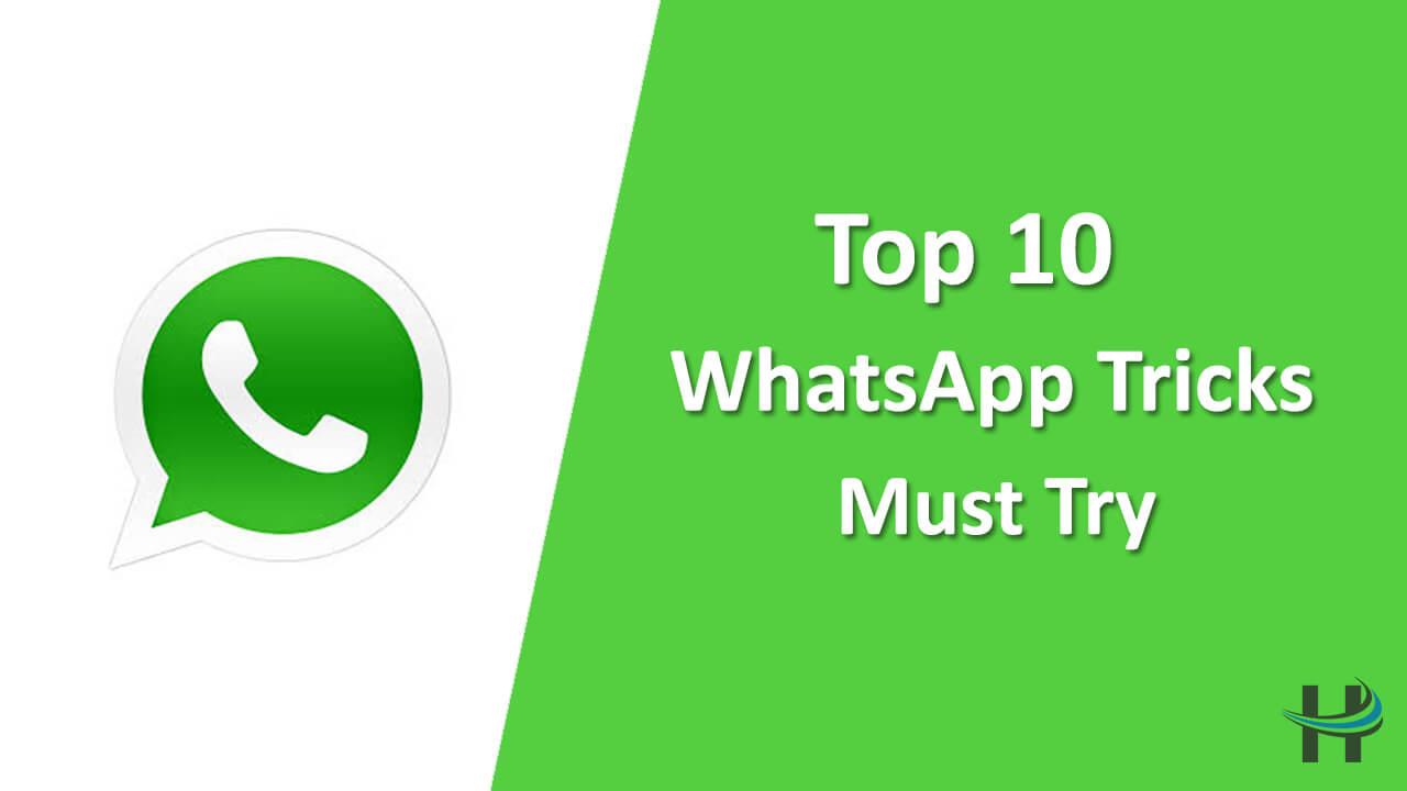 Top 10 WhatsApp