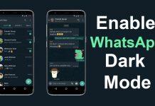 Whatsapp में Dark Mode कैसे